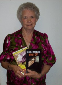 LeAnn with Old Shack Mystery and Secret Passage Mystery